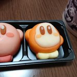 和菓子カービィの形が崩れてしまったので吸い込み顔に修正しようとした結果・・・!