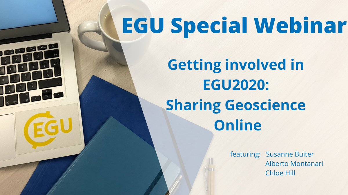 While the EGU assembly in Vienna is cancelled, apparantly anyone will be able to attend its virtual replacement for free! (you may have to stay up for it though)