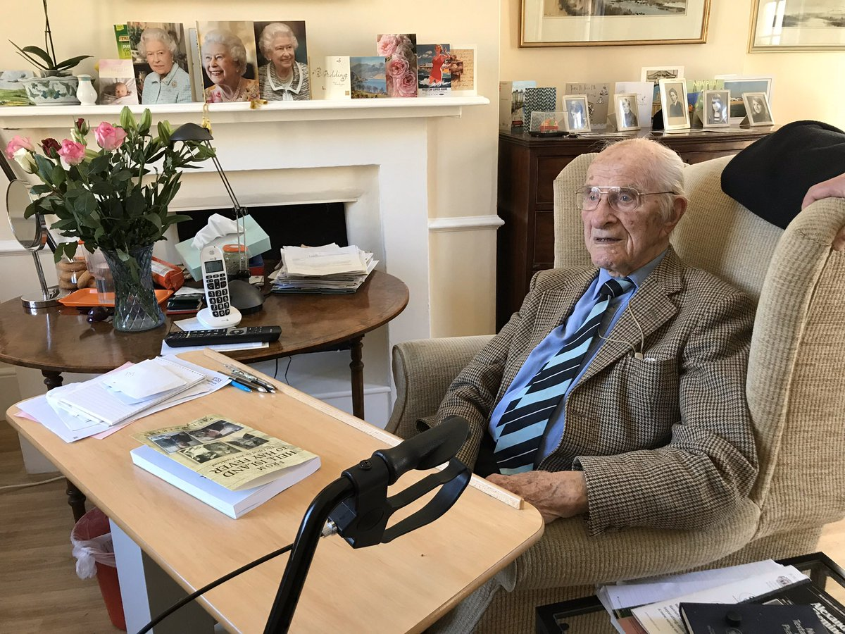Sad news.  Just been informed of the death of one of the greatest Britons, Dr Bill Frankland. He died at age 108. He was the oldest living survivor of the Japanese POW camps. He was a scientist who published his most recent paper in September 2019.   I'll never forget our meeting