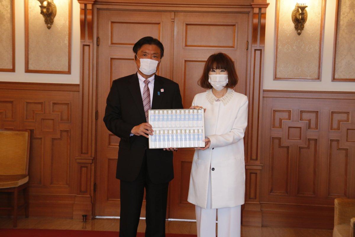 新型コロナウイルス感染拡大を受け、愛しとーとが福岡県へ消毒用アルコールハンドジェル5000本を無償提供
