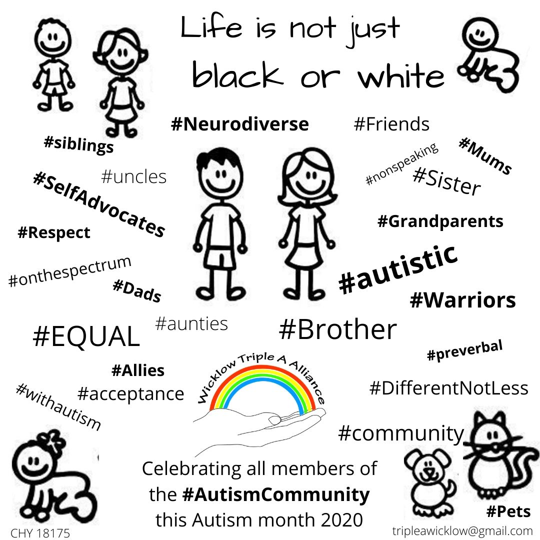 We recognise our spectrum & experience of autism is different. W would like to celebrate differences in language, abilities, expectations.We value each and every one of the autism community & thank you all for valuing us too. #TogetherWeAreStronger #CelebrateDiversity #WAAD2020 <br>http://pic.twitter.com/TRsjXwJ86i