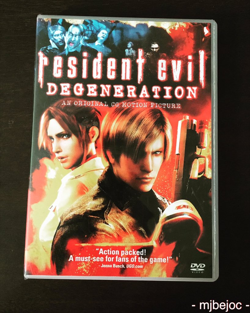 Now watching: Resident Evil Degeneration   7/10 #residentevil #residentevildegeneration #dvdcollection #horrormovies #dvdcollector #claireredfield #leonskennedy #biohazard #Gvirus #zombie #actionmovie #staysafe #virus #moviepic.twitter.com/jns8YEQr75