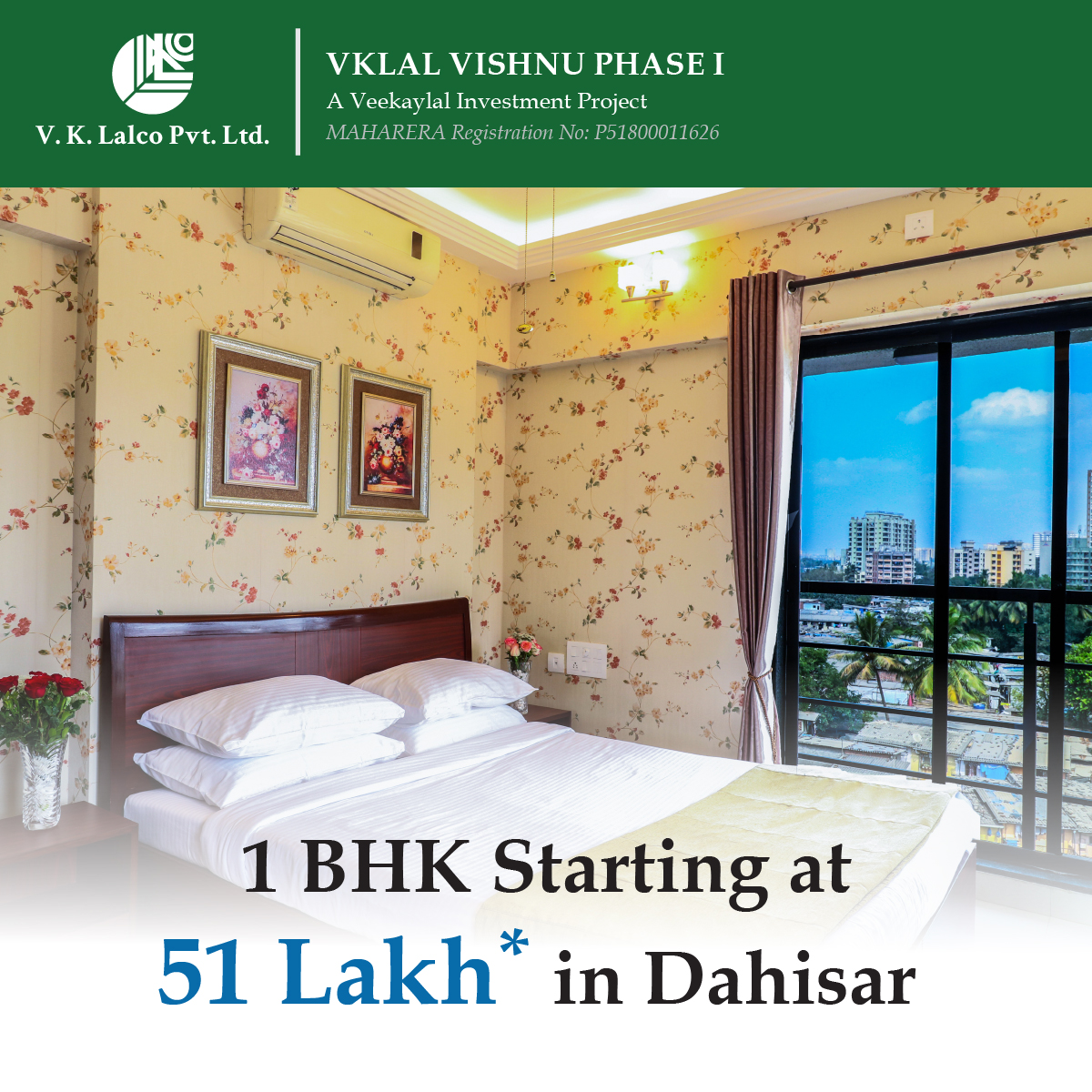 Key to happiness is finding the key to your dream house at affordable price. Call us for more details for 1 bhk at VKLAL Vishnu, Dahisar. . . . #dahisar #1bhk #spacious #sgnpview #view #greenary #fresh #realestate #mumbairealestate #propertyforsale #infrastructure #mumbai_citypic.twitter.com/CObP0bB9q2