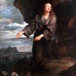 Image for the Tweet beginning: St. Rosalia interceding for the