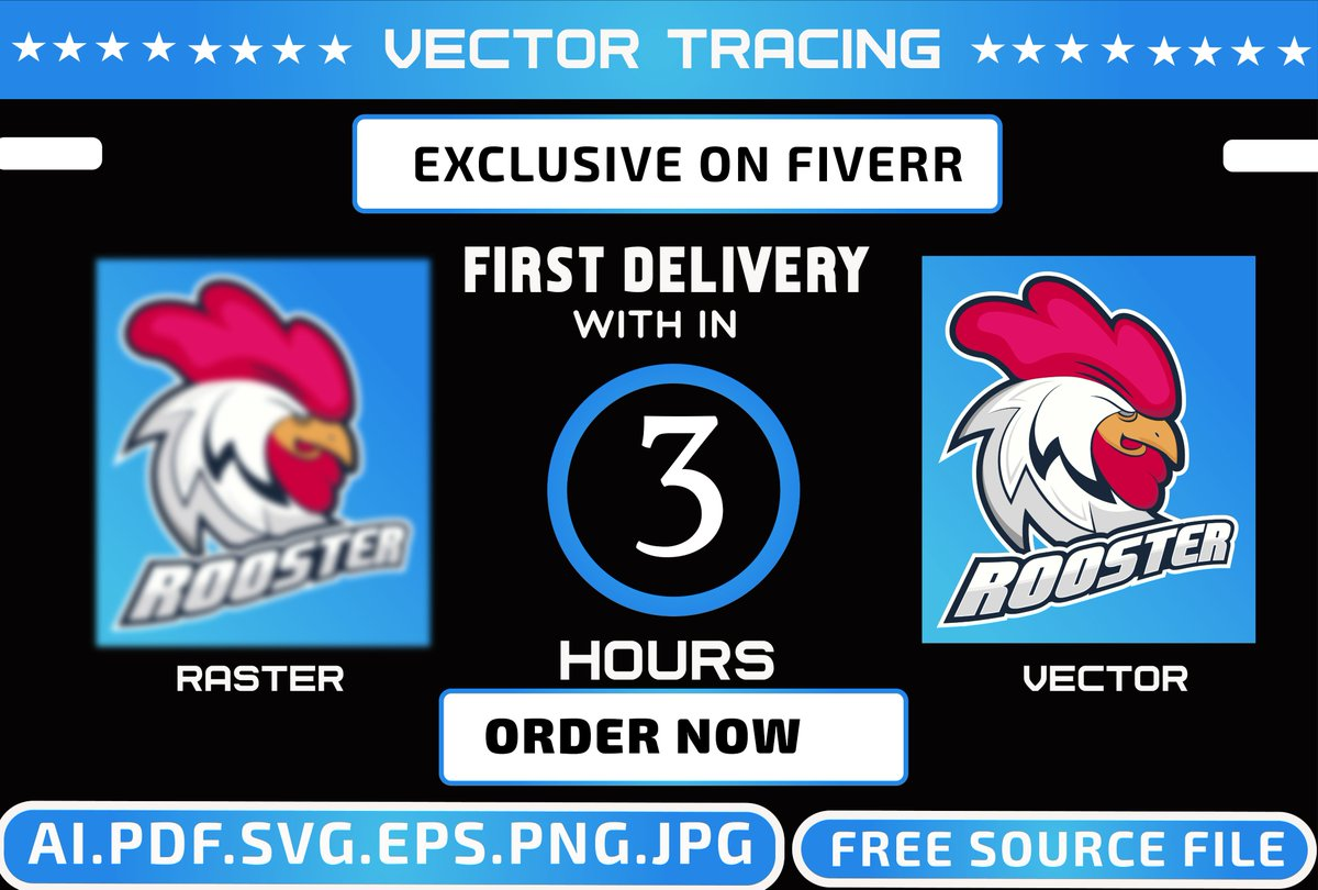 Farhana Yeasmin On Twitter Will Convert Your Jpg Png Image Into Vector Within 6 Hours If You Have Low Resolution Blurry Image Into Vector So That It Can Convert It Any Color