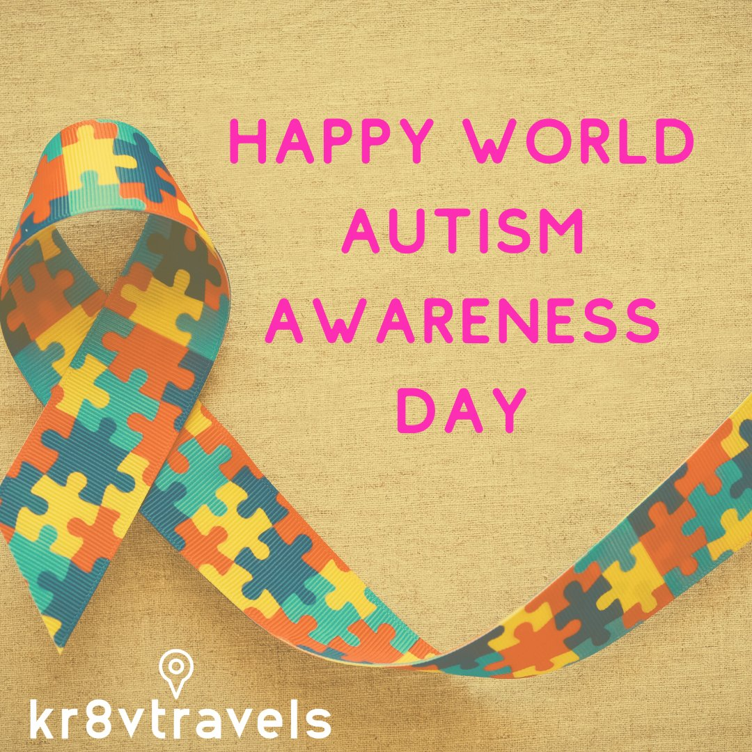 Autism is not a weakness, Autism is a superpower. Wish you a happy World Autism Awareness Day.  #autismawareness #Kr8vTravels #iBookTravel #Kr8ingExperiencesToRemember   #LetsGoSomewhere #TravelWithMe #lifeOfAdventure  https://soo.nr/ZfGVpic.twitter.com/tl7ibFJLgj