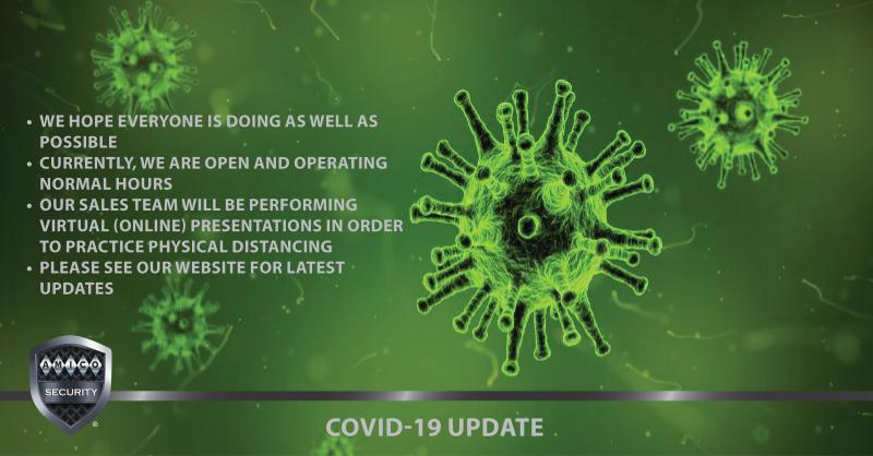 COVID-19 Update: We hope everyone is doing as well as possible. Currently, we're open & operating normal hours. Our sales team will be performing virtual presentations in order to practice physical distancing. Please see our website for the latest updates. https://t.co/xJAX7xssw1 https://t.co/gc66TIPyu2