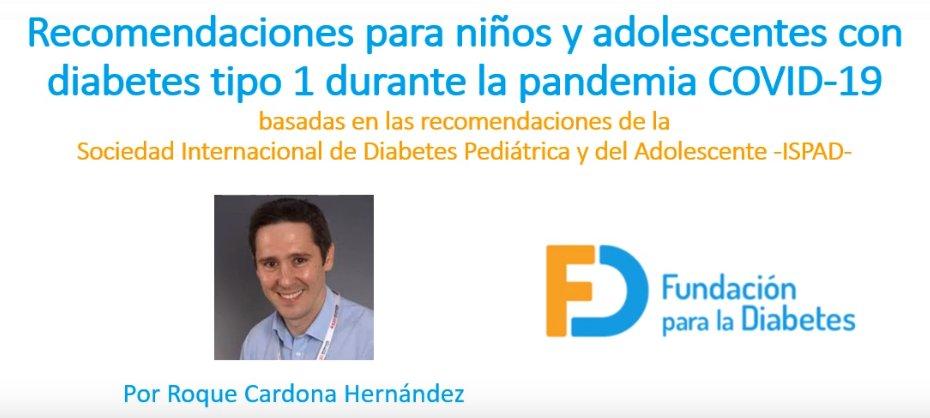 fundación de diabetes para niños uk