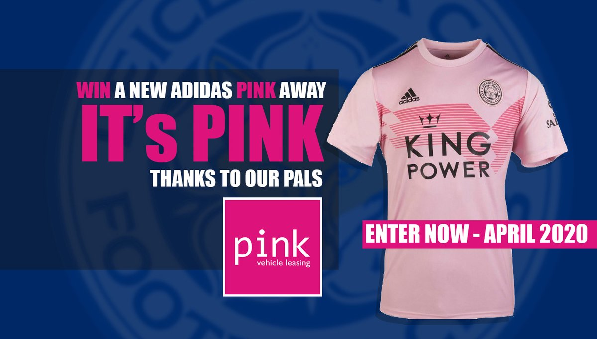 WIN a Pink Adidas Leicester City Shirt... thanks to our pals @PinkCarLeasing ! To Enter simply answer which club did we buy Wes Morgan from ? ENTER via our website here : bit.ly/LeicesterFanTv… #leicester #leicestercity #lcfc #pinkvehicleleasing