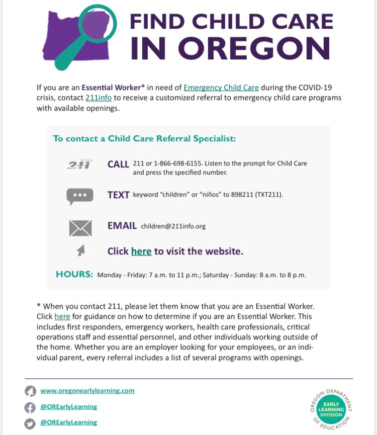 Working and need help finding child care? There are options! pic.twitter.com/eGZBqHNmWd
