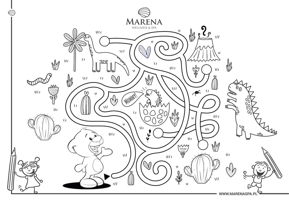 Tęsknicie za Mareną? Dla wszystkich dzieci przygotowaliśmy marenowskie kolorowanki! Już teraz możecie je pobrać z naszej strony 🤗   Pobierz tutaj 👉   #marena #hotelprzyjaznyrodzicom #dzieci #zabawa #kolorowanki #fun #wdomu #wspólnie #together