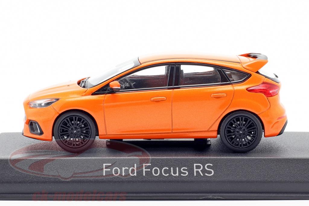 1:43 Norev Ford Focus RS  2016 orange-metallic