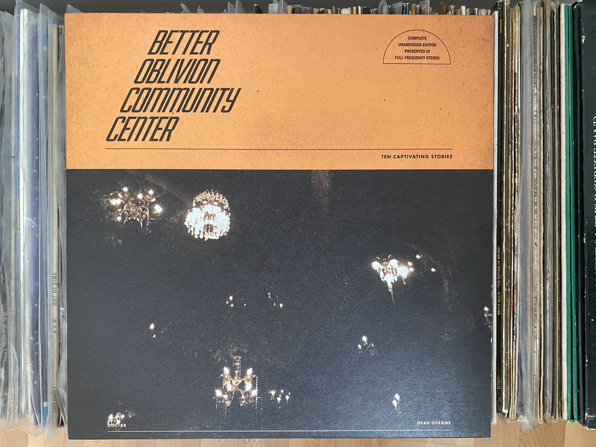 Day 13: jumping headfirst into the here and now, today's album is a beaut. Better Oblivion Community Center - Self-Titled (2019). It's a lush collaboration between @conoroberst & @phoebe_bridgers and a corker of a slow morning listen. #recordaday pic.twitter.com/lhHl0HjwOk