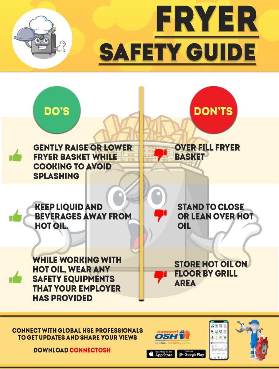 #safetytips #hse #connectosh #safetyprofessional #safetyculture #osh  https://connectosh.page.link/ConnectOSH pic.twitter.com/DEkN3ElqM4