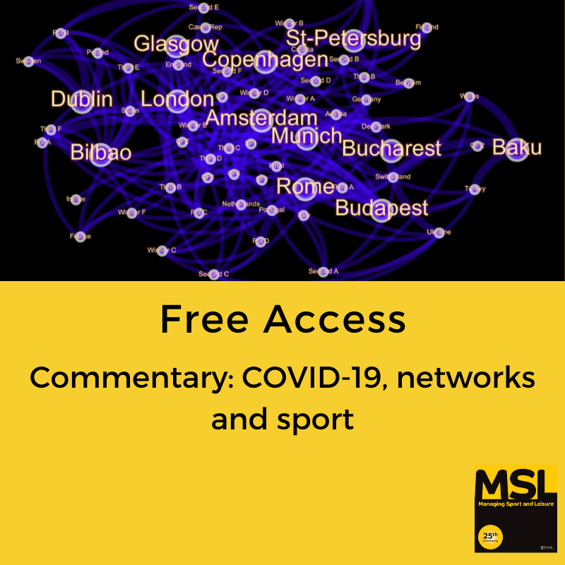 Free to read now: Rapid analysis of the impact of coronavirus disease #COVID-19 on #sporting mass gatherings, focusing on the #UEFA #EURO2020, links to the #Tokyo2020 #OlympicGames & other gatherings incl. community #recreational (or grassroots) #football bit.ly/2UVi4xI