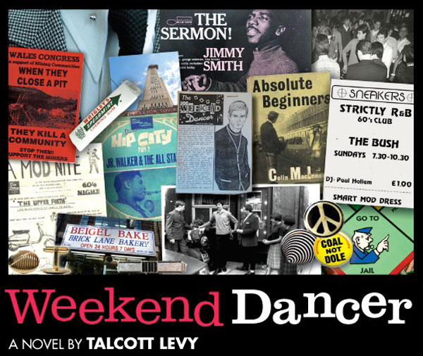Another book that's worth chasing up if you missed it first time around - Weekend Dancer by Talcott Levy. Essentially a tale of a London Mod in the 1980s. https://bit.ly/3axxHSFpic.twitter.com/YiPQqRSODn