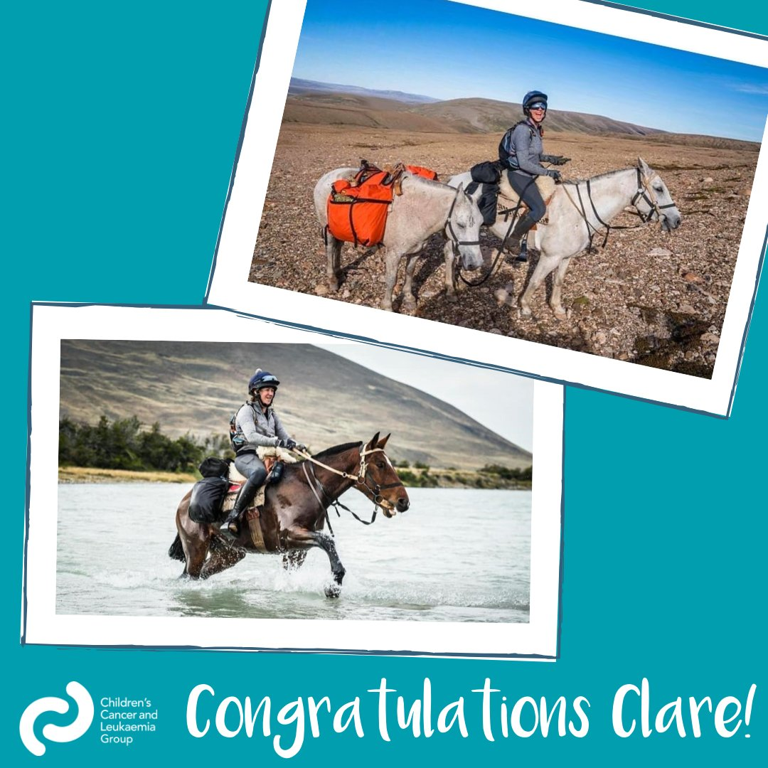 We want to say a huge congratulations and thank you to Clare King, who braved the first-ever Gaucho Derby. Incredibly, she finished second and has raised over £8,000 to support CCLG in the process! You can read Clare's story and donate to her fundraiser at https://cclg.uk/344l5jnpic.twitter.com/W9Q8Hh3Ftp