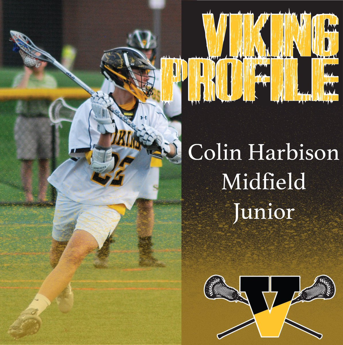 "SB Lacrosse on Twitter: ""Viking Profile Thursday: Junior @colin.harbison  #22. Colin is a Middie who creates offense, his unselfish play always leads  to a scoring opportunity 🥍 2019 Season Stats: 6 Goals,"