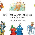 Image for the Tweet beginning: EXCITING NEWS! #JuliaDonaldson will launch