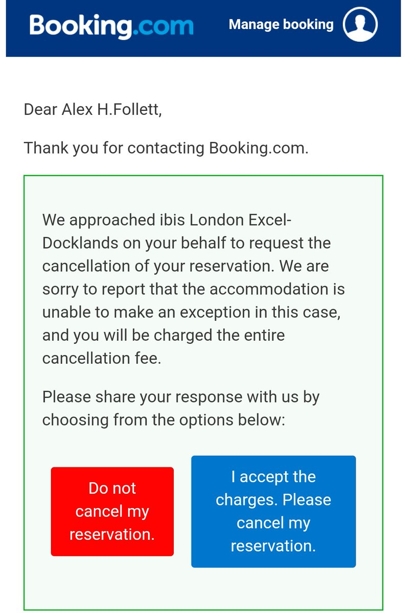 Add @bookingcom and @Accor to the list of companies profiting off #coronavirus . Getting all money for cancel MCMExpo date and sold out new one. pic.twitter.com/FLpJANVtpr
