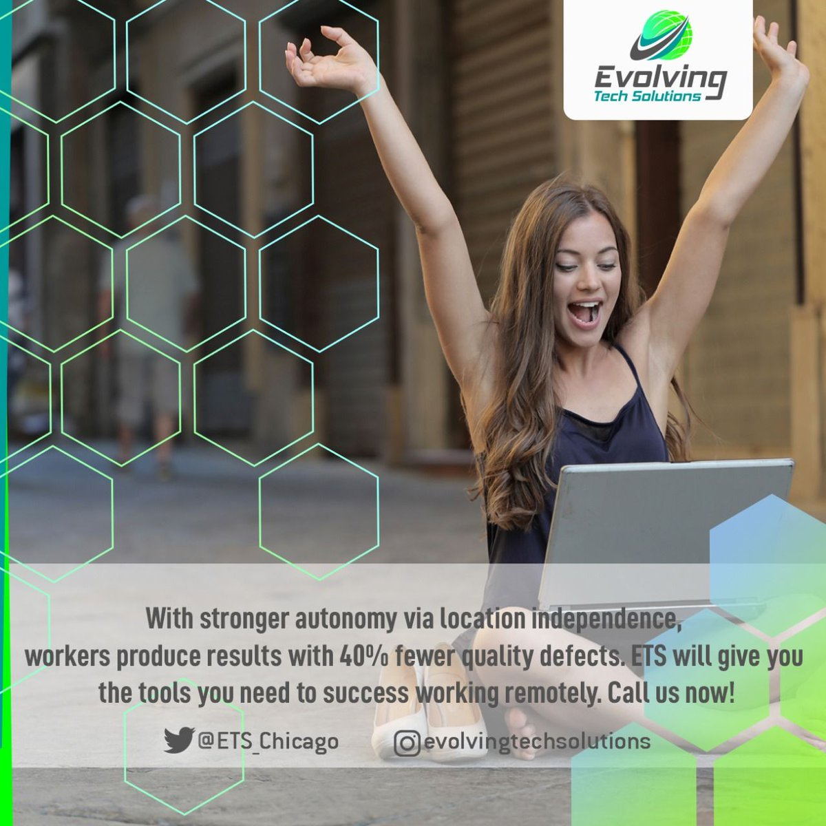 ETS will give you the tools you need to success working remotely. Call us now! #chicago #workfromhome #socialdistancing #stayproductive #businessowners #businessstrategy #businessplan #productivity #WFH #remoteaccess #remotework #smallbusiness #staysafepic.twitter.com/Va0hvBNQbk