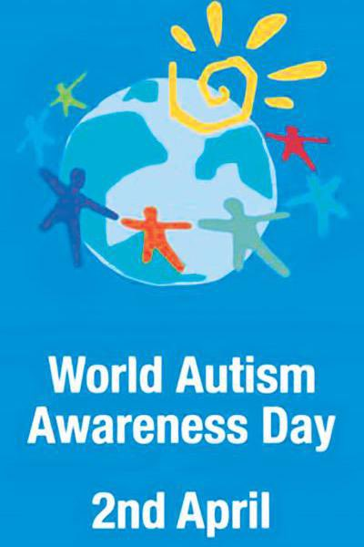 Share your love and kindness-shine bright in blue today! #AutismAcceptance #AutismAwareness #WorldAutismAwarenessDay