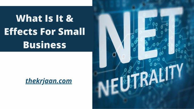 Net Neutrality is