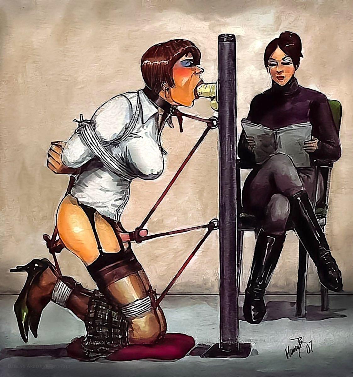 Bdsm slave humiliation pet torture