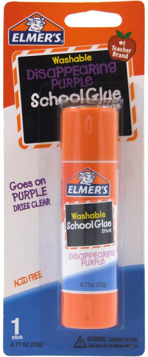 78% Off (.50 a stick)  Elmer's Disappearing Purple School Glue Stick  https://amzn.to/2UPWevB  #BwcDeals #Deals #dailydeals #TEACHers #TeachersHelpTeacherspic.twitter.com/tYSQI3s248