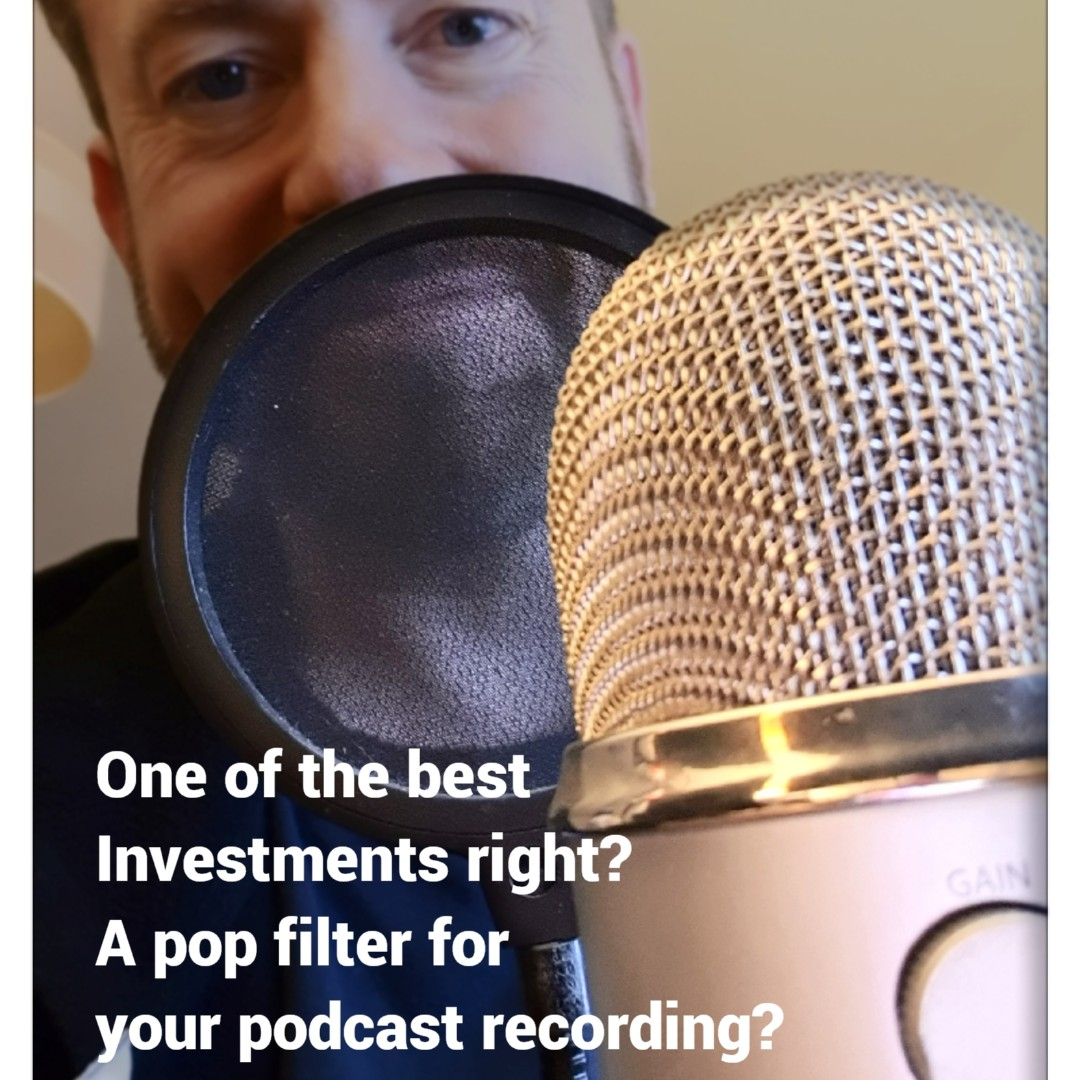 "An essential investment a pop filter, right?  Getting that rich voice without the inevitable ""p""opping. It's saved so much hassle.  #hitpodcast #podcast #podcasting #podcastproduction #bestpodcast #podcastmaking #applepodcasts #podcastshow  #podernfamily #podcastinglifepic.twitter.com/8c9H6SnGwP"