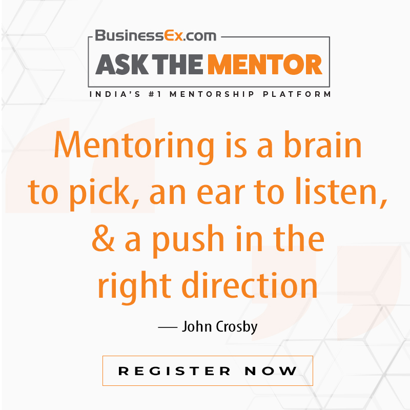 #AskTheMentor Attend insightful webinars by India's top mentors. For registration, visit: https://bit.ly/2WTs65h  #BExWebinar #fightcoronavirus #fightcovid19 #VirtualSeries #webinar #businesswebinar #businessstrategy #session #speakersession #onlineevent #eventpic.twitter.com/kMGS3knWKY