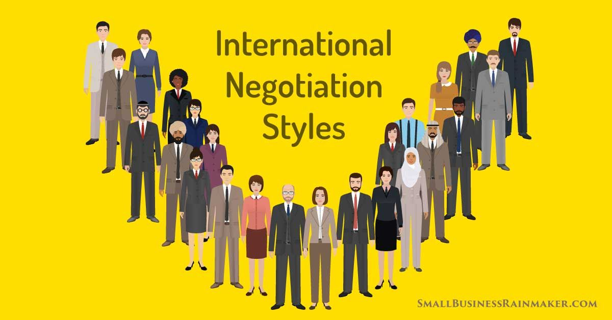 It's one thing doing business in the land where you were born and raised.   It's another to venture into #international negotiations with dozens of unfamiliar cultures.  Tips on global #businessstrategy by @fundera via @andrepalko [Infographic]   https://buff.ly/2RQYEZ4pic.twitter.com/B6LbnAQjSi
