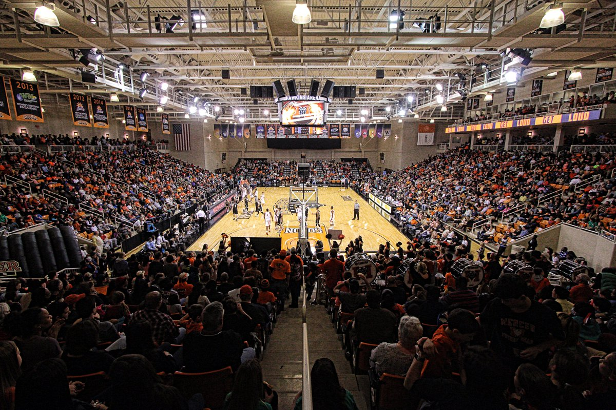 We can't wait until Hawkins Arena is packed again and everyone is wearing their Mercer 🟠. True home court advantage‼ Did you experience a game in 2019-20? Reply and tell us about it!  #RoarTogether https://t.co/qeJvTHgeD6