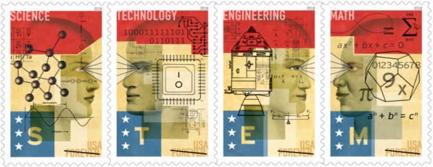 Today in 1921, Einstein lectured on his new theory of relativity in NYC. Today in 2018, USPS saluted educational programs that are developing our next generation of thinkers and innovators with STEM Education stamps - Science, Technology, Engineering and Math! #StampsAreHistorypic.twitter.com/OUMIByV2ws