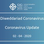 UPDATED STATEMENT  284 new cases have tested positive for Novel Coronavirus (COVID-19) in Wales, bringing the total number of confirmed cases to 2,121, although the true number of cases is likely to be higher.  Read more here: https://t.co/Z1N6KvyokQ