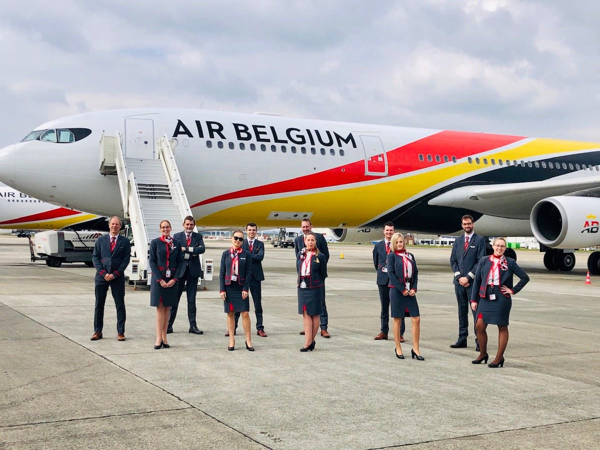 """Air Belgium a Twitteren: """"Air Belgium continues to repatriate stranded  travelers from all over the world. Yesterday… Seychelles, today… Algeria,  tomorrow… Peru! 🌎✈️ We are very grateful to our incredible colleagues! 😊 #"""