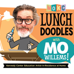 Image for the Tweet beginning: Mo Willems, artist in residence