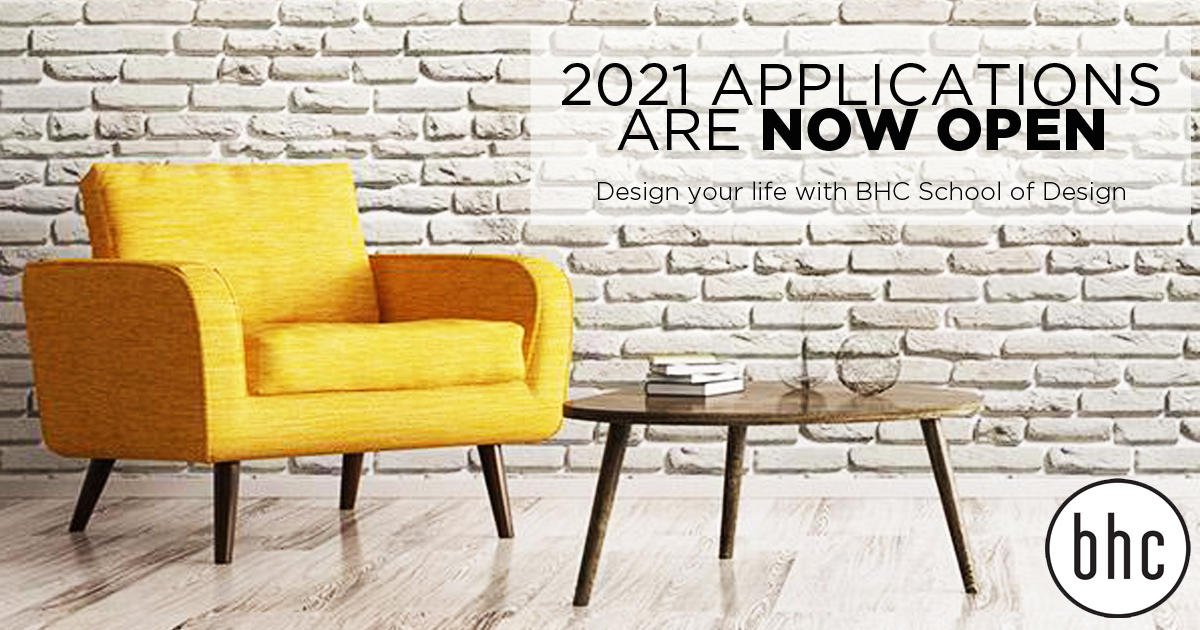 2021 Applications are NOW OPEN Study at one of the leading design schools in the country Apply online today by clicking on the link https://t.co/kQNNmHvHcs @wallsneedlove #2021applications https://t.co/mZR86HmD0l