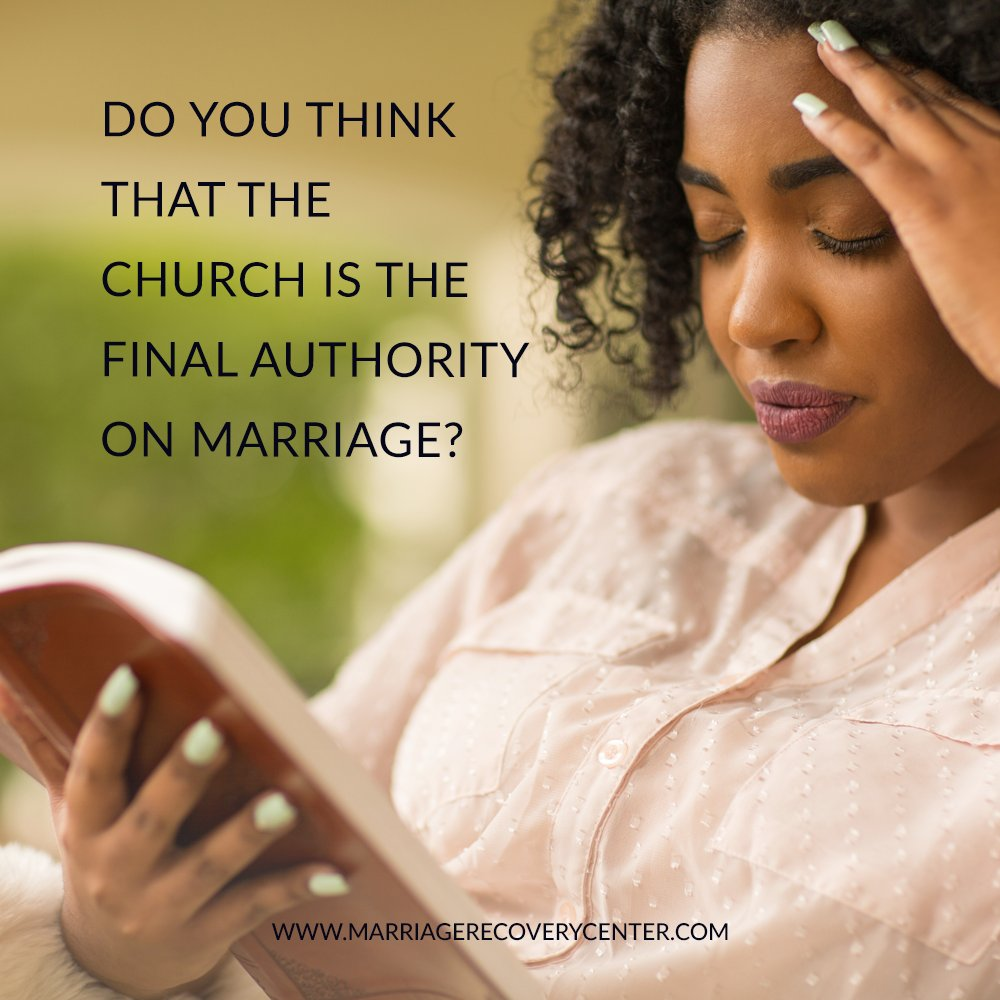Do you think that the Church is the final authority on marriage? Let us know. #christiancounseling #marriagecounseling #relationshiphelp #christianblog #christianblogger #marriagehelp #marriageadvicepic.twitter.com/iMIclYh7Ry