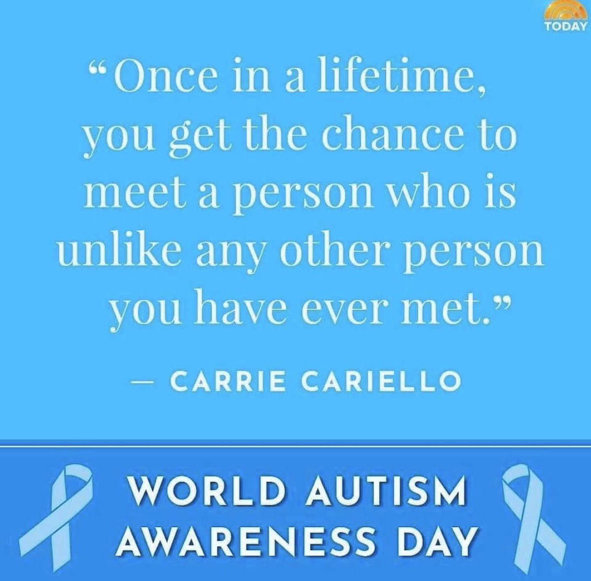 In honor of #WorldAutismAwarenessDay https://t.co/PTPZlhK44d