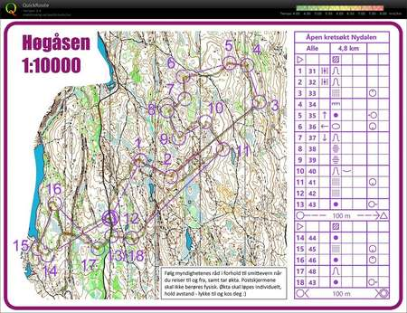 Kretsøkt Høgåsen - April 2nd 2020 - Orienteering Map from Isak Jonsson http://omaps.worldofo.com/?id=271416&utm_source=dlvr.it&utm_medium=twitter …pic.twitter.com/KNO2z4ezt1
