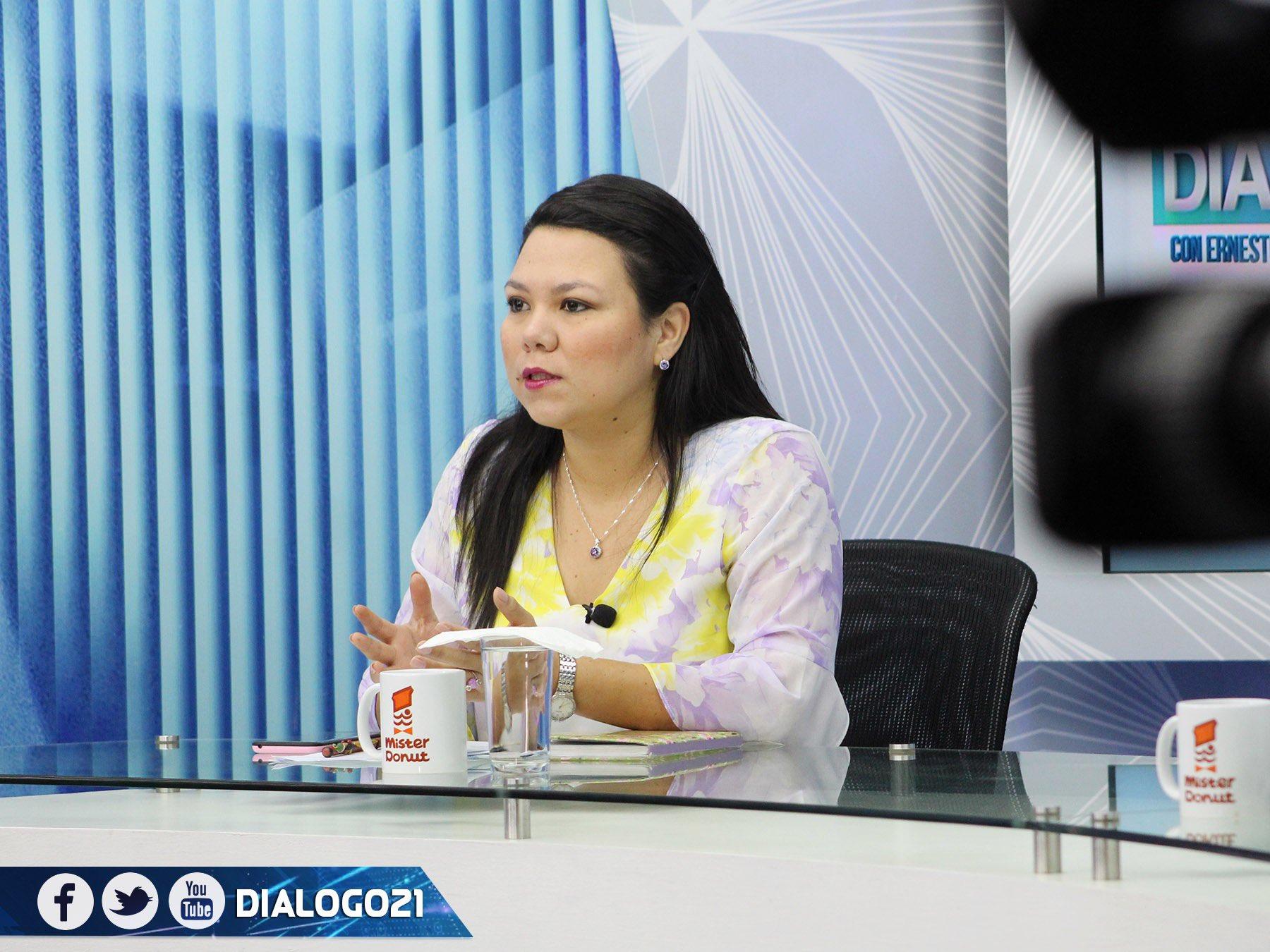 Anabel Belloso: el FMLN no participó en el caos del lunes