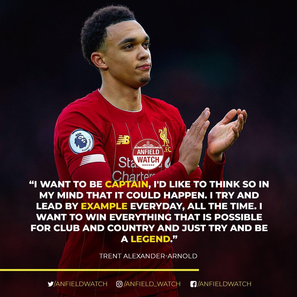 Future #LFC captain. 😍 @trentaa98