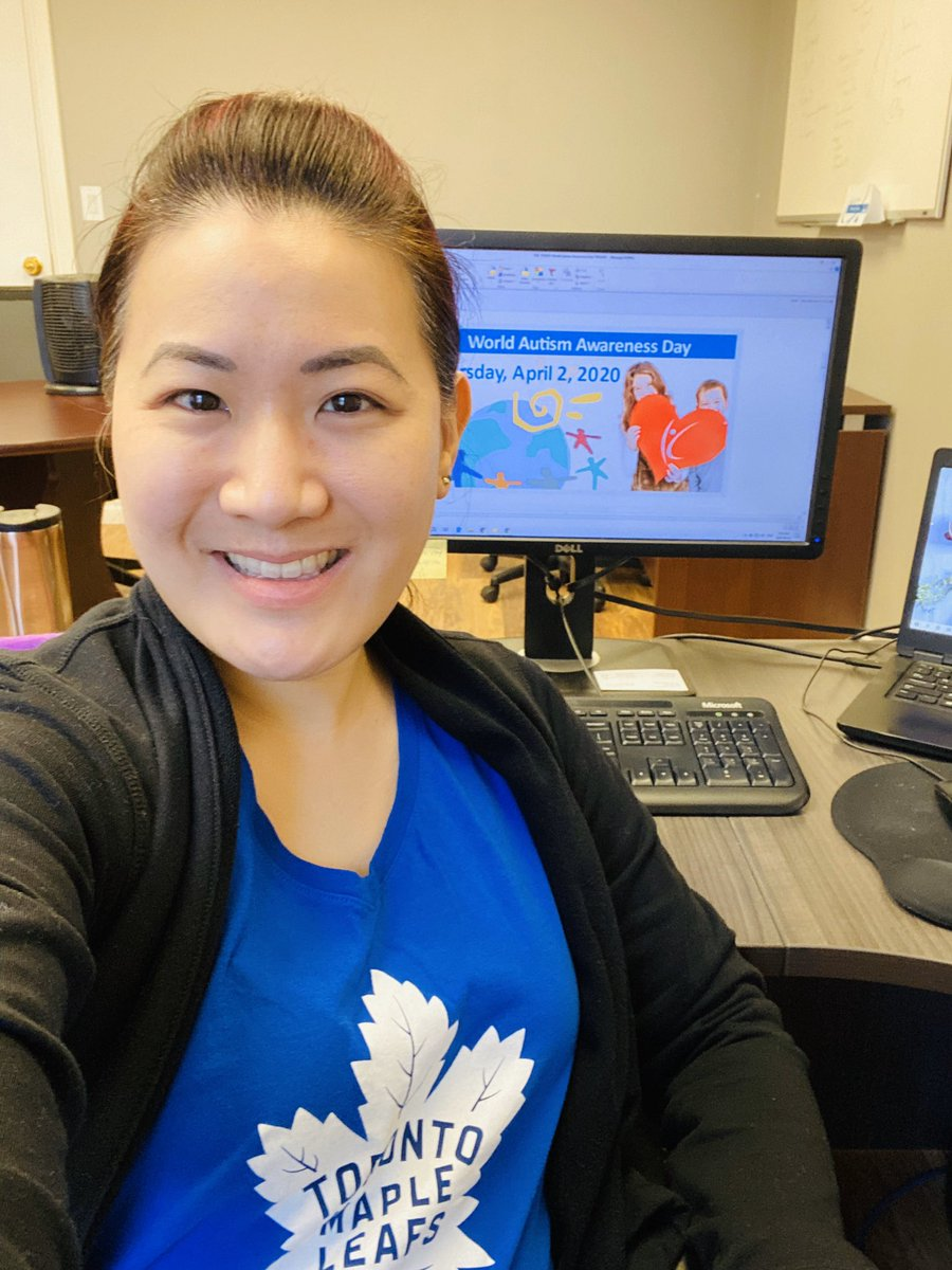 Wearing my blues in celebration of World Autism Awareness Day today! Let's see your blues! Snap and share a pic and tag @KerrysPlace  #WorldAutismAwarenessDay  #WAAD2020  #wearblueforautism #celebratediversity #kerrysplaceautismservices<br>http://pic.twitter.com/rdiNZXVpea