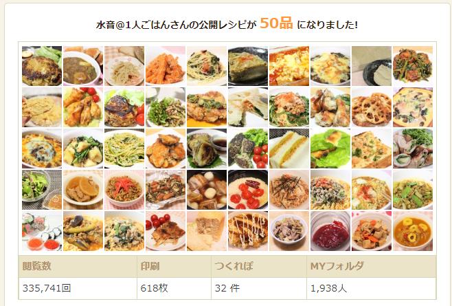 クックパッドに掲載しているレシピが50品になったそうです🙌✨こうやって一覧にしてくれるの嬉しいww引き続き増やしていこうと思います♪水音LIFE のキッチン#ブログ書け #今日の積み上げ