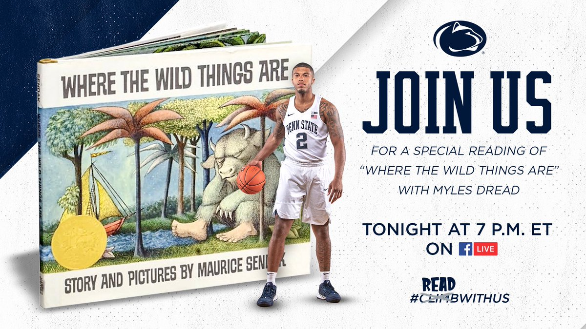 🚨Tonight join Myles for our first installment of #ReadWithUs 🦁 ➡️@mylesd12_ #ClimbWithUs   CLIMB ON