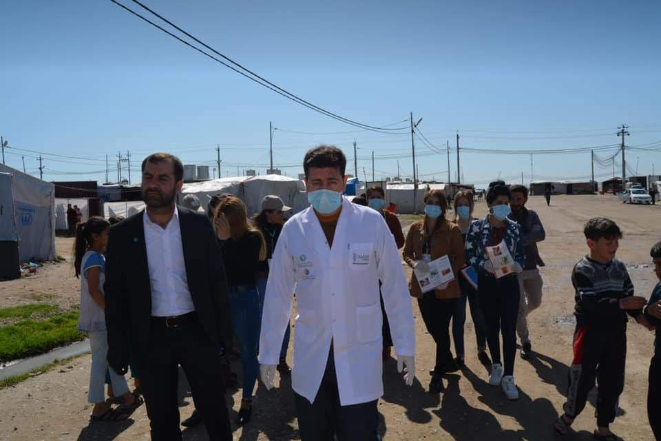 """test Twitter Media - """"The camp is the perfect breeding ground for sickness. In an environment like this, COVID19 will spread like wildfire unless we take every possible precaution. It's a race against time.""""   To support Dr Khalil and his team in Khanke camp, go to https://t.co/RzHhxCf0RN. https://t.co/hTd6hY4xGq"""