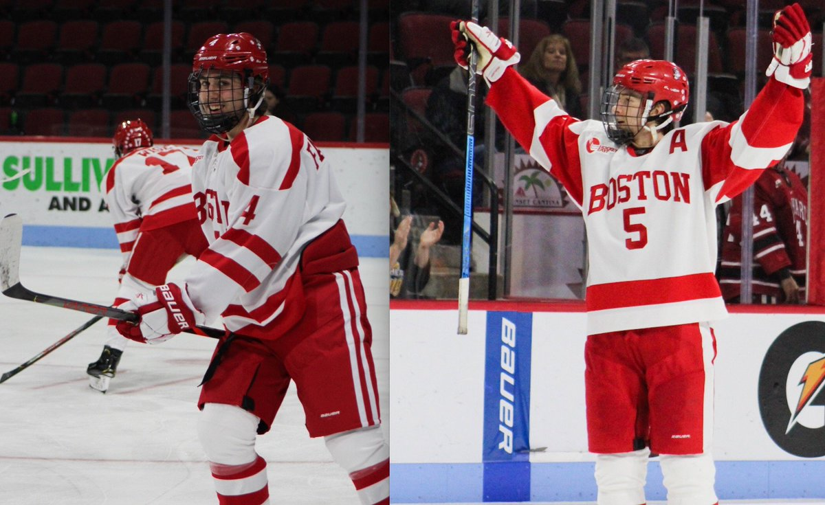 With NCAA players signing their pro deals around the country, Terrier Nation has its eyes on two junior blueliners who could be in line for a move to the NHL. In his latest column, @PatDonn12 tries to get inside the minds of David Farrance and Cam Crotty. hockey.dailyfreepress.com/2020/04/01/sho…