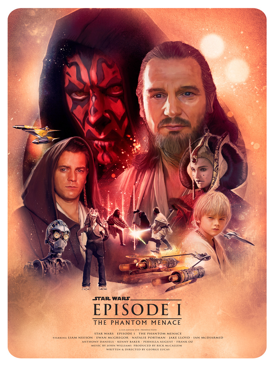 Posterspy Com On Twitter Star Wars Episode I The Phantom Menace 1999 Poster Uploaded By Turksworks View Hq Https T Co 5jwveyyxcj Starwars Starwarsprequels Movieposters Posterspy Https T Co 7486dxsh1l