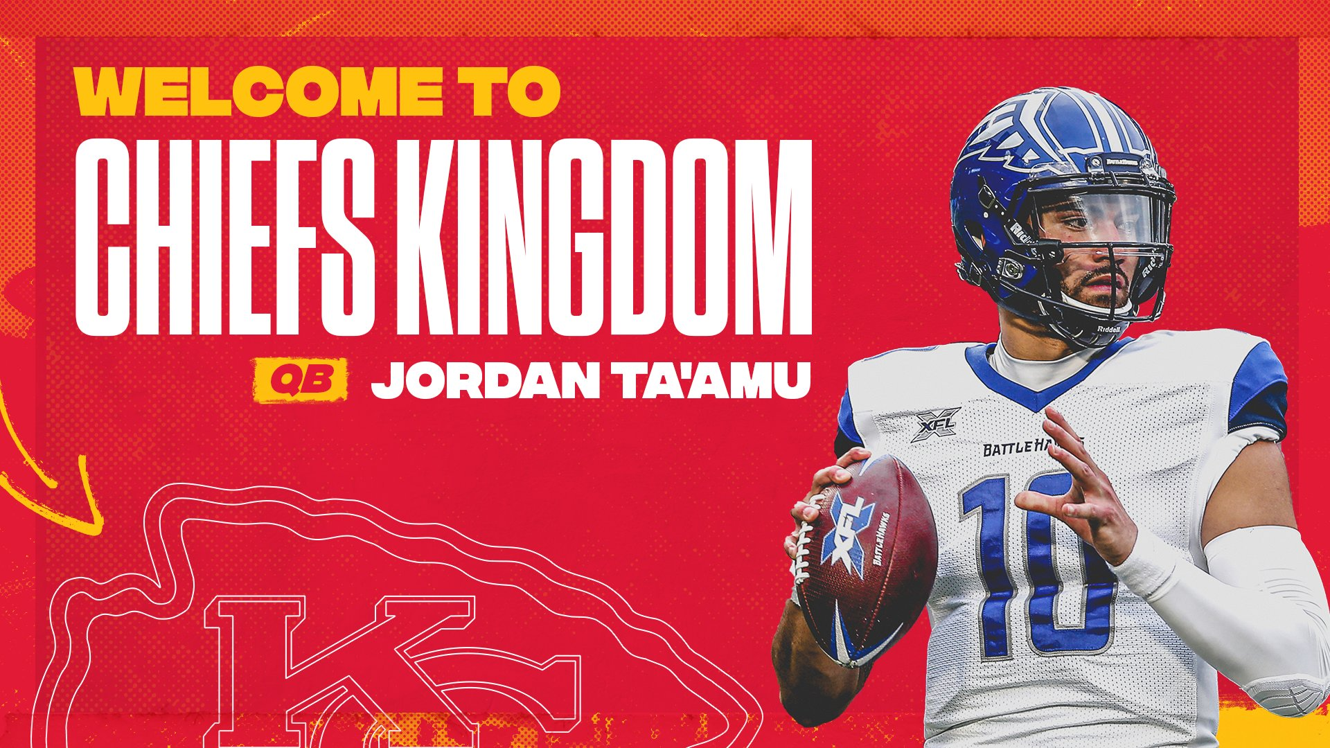Kansas City Chiefs On Twitter We Ve Officially Signed Jordan Ta Amu